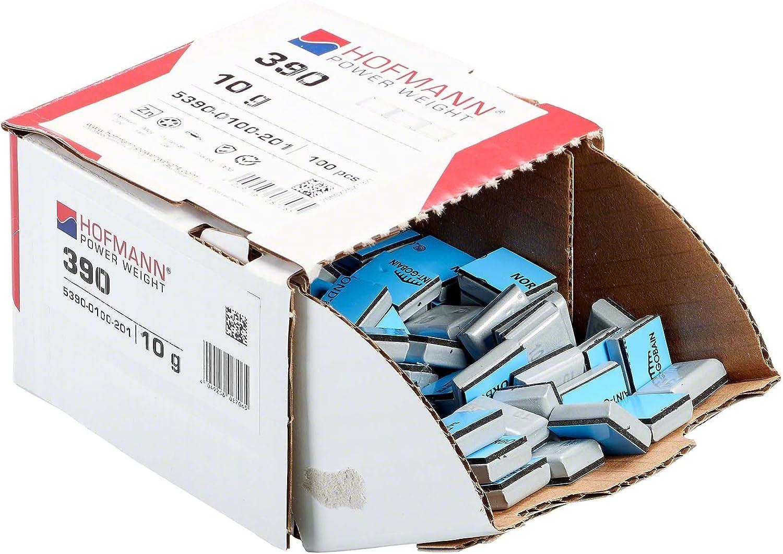 Hofmann Power Weight 100x Klebegewicht Leichtmetallfelgen 10g Auswuchtgewicht Wuchtgewicht BMW Klebegewicht Alufelgen