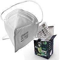 Mascarilla FFP2 Homologada. Caja 25 Mascarillas FFP2 Certificado CE EN149. Ajuste Cómodo a Cabeza Sin Molestias en las…