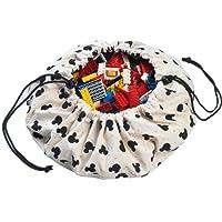 Play&Go Mini Mickey Toy Storage Bag, Black, 40cm