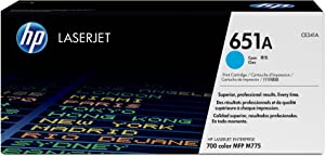 HP 651A | CE341A | Toner Cartridge | Cyan