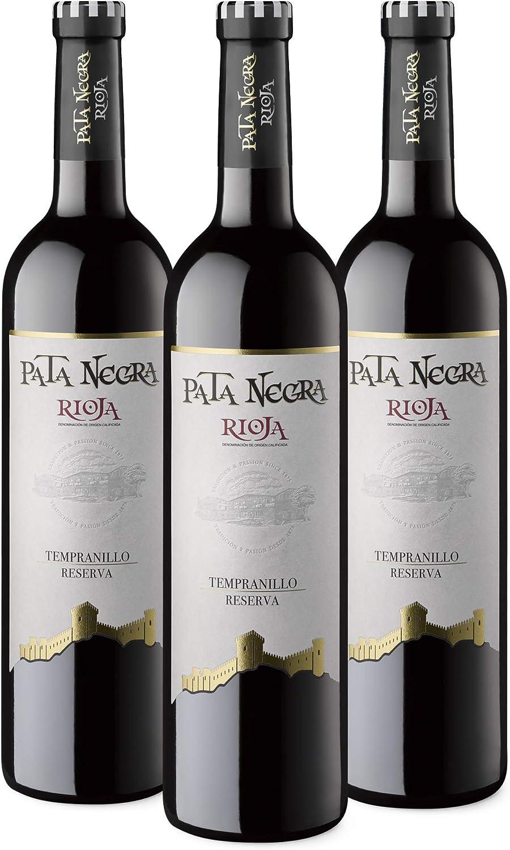 Pata Negra Reserva - Vino Tinto D.O Rioja - Pack de 3 Botellas x ...