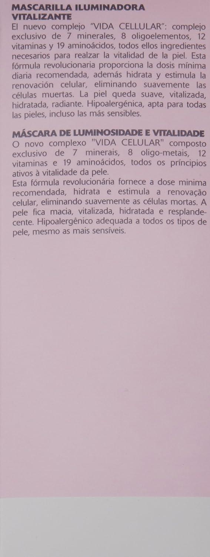 Orlane Oligo Vitamin, Mascarilla hidratante y rejuvenecedora para la cara - 75 ml.: Amazon.es: Belleza