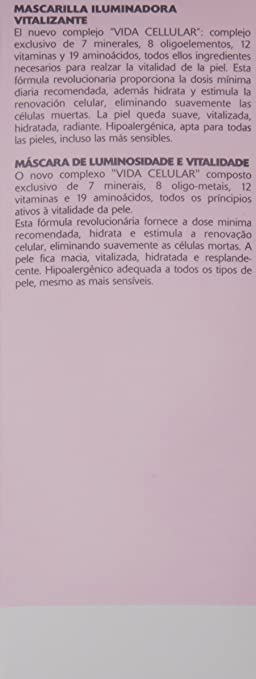 Amazon.com: ORLANE PARIS Oligo Vitamin Vitality Radiance Mask, 2.5 oz.: Luxury Beauty