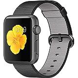 Apple 38mm Smart Watch - Space Gray Aluminum, Black Woven Nylon Band