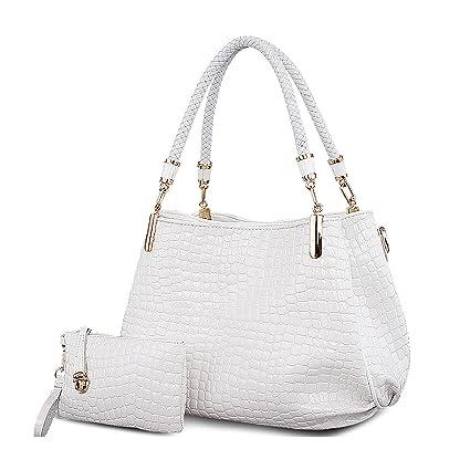 14639bc9e2 Tisdaini Mesdames sac à main crocodile modèle mode épaule Messenger sac  loisirs portefeuille
