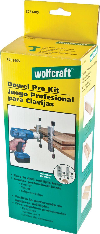 wolfcraft 3751405 Dowel Pro Doweling Kit by Wolfcraft (Image #1)