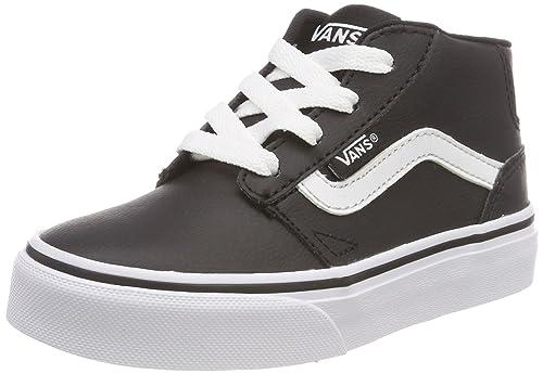 Vans Chapman Mid Synthetic Leather, Zapatillas Altas para Niños: Amazon.es: Zapatos y complementos