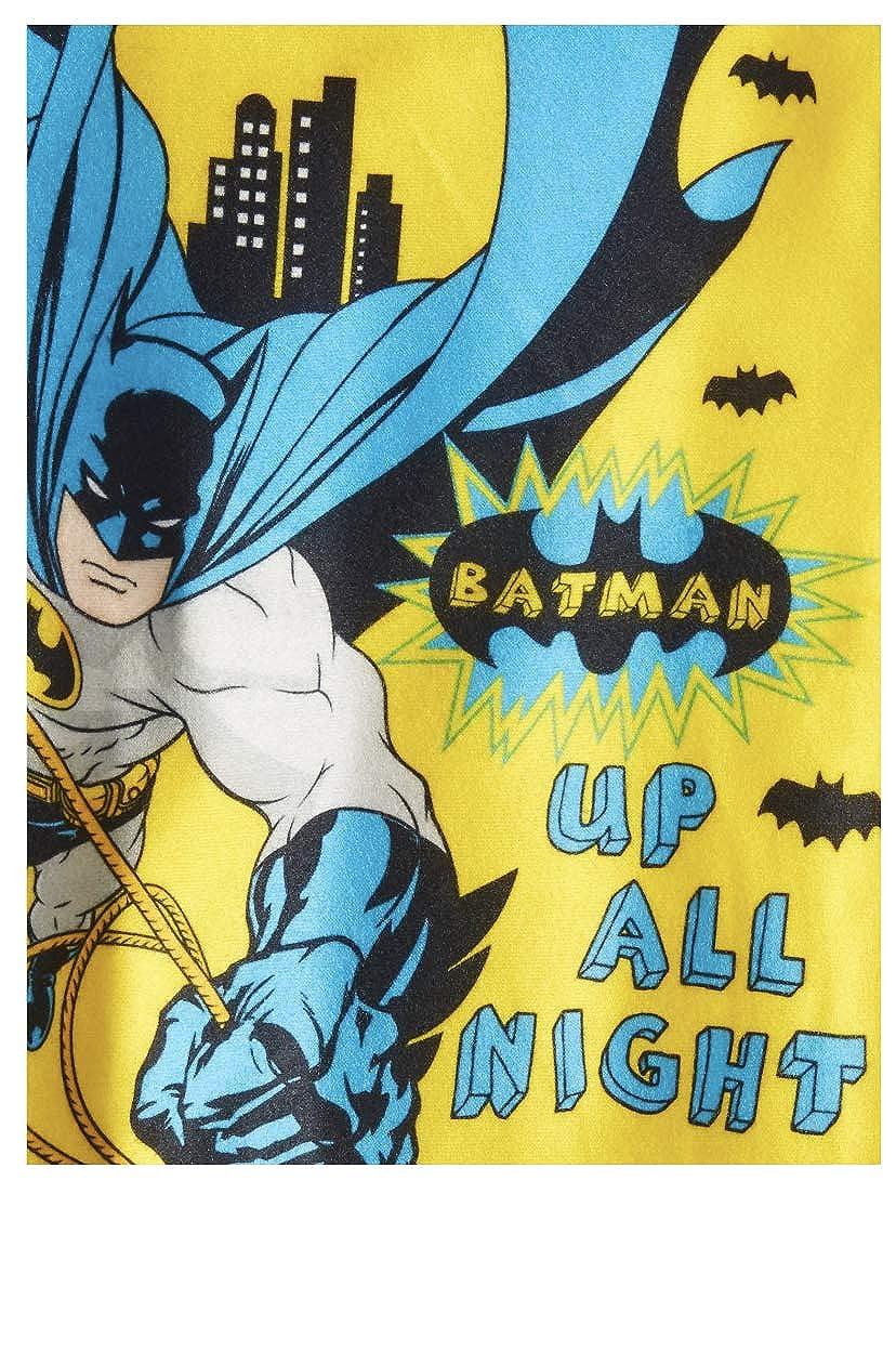Toddler Boys Batman Up All Night 2pc Brushed Jersey Pajamas