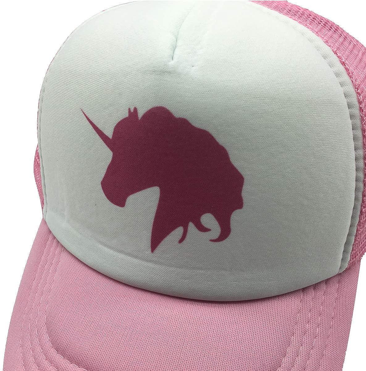 NVJUI JUFOPL Boys Baseball Cap Mesh Back Snapback Funny Trucker Hat for Kid