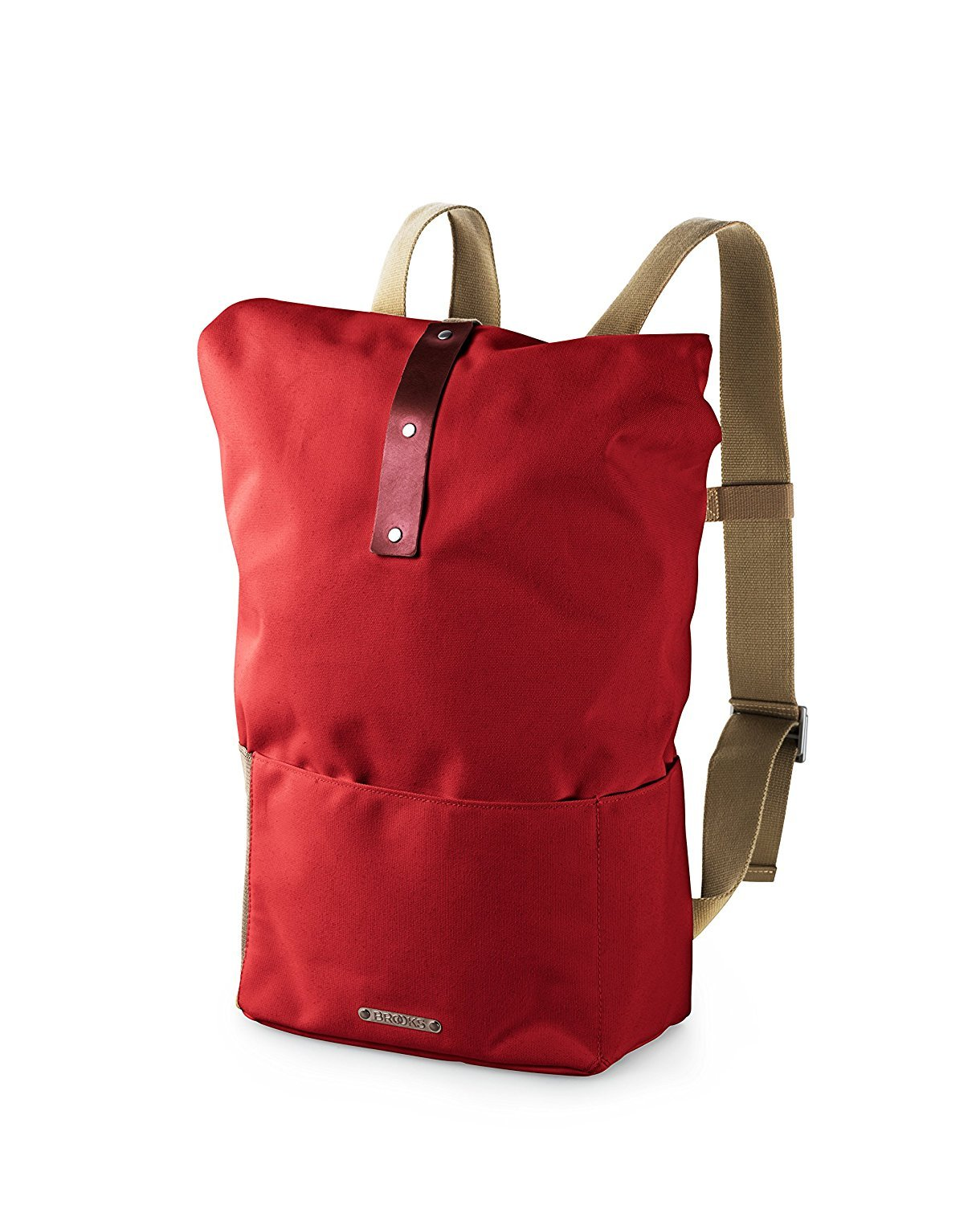 Brooks England Hackney Backpack Red/Maroon [並行輸入品] B077QG5KRH
