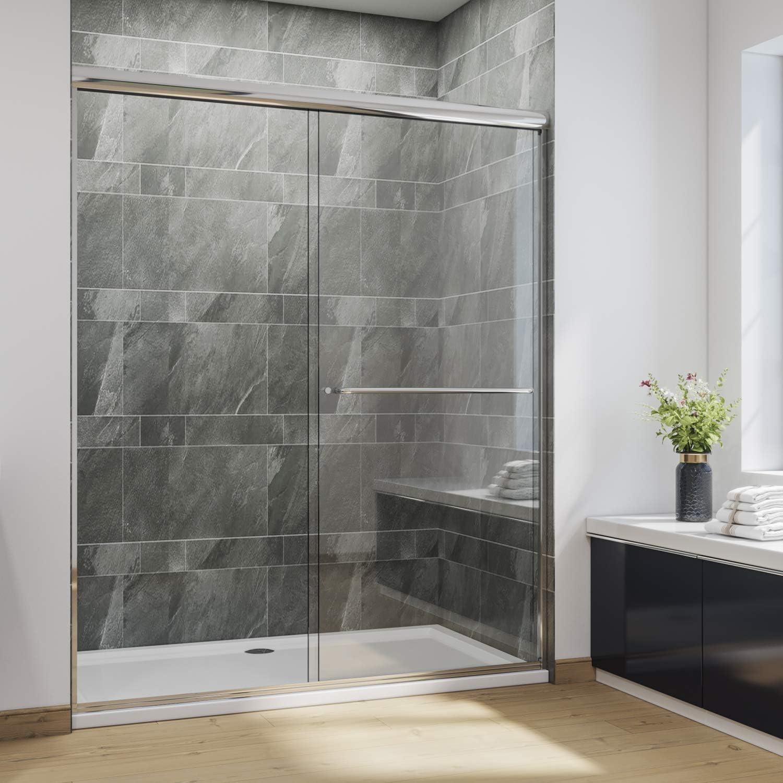 SUNNY SHOWER Glass Shower Door
