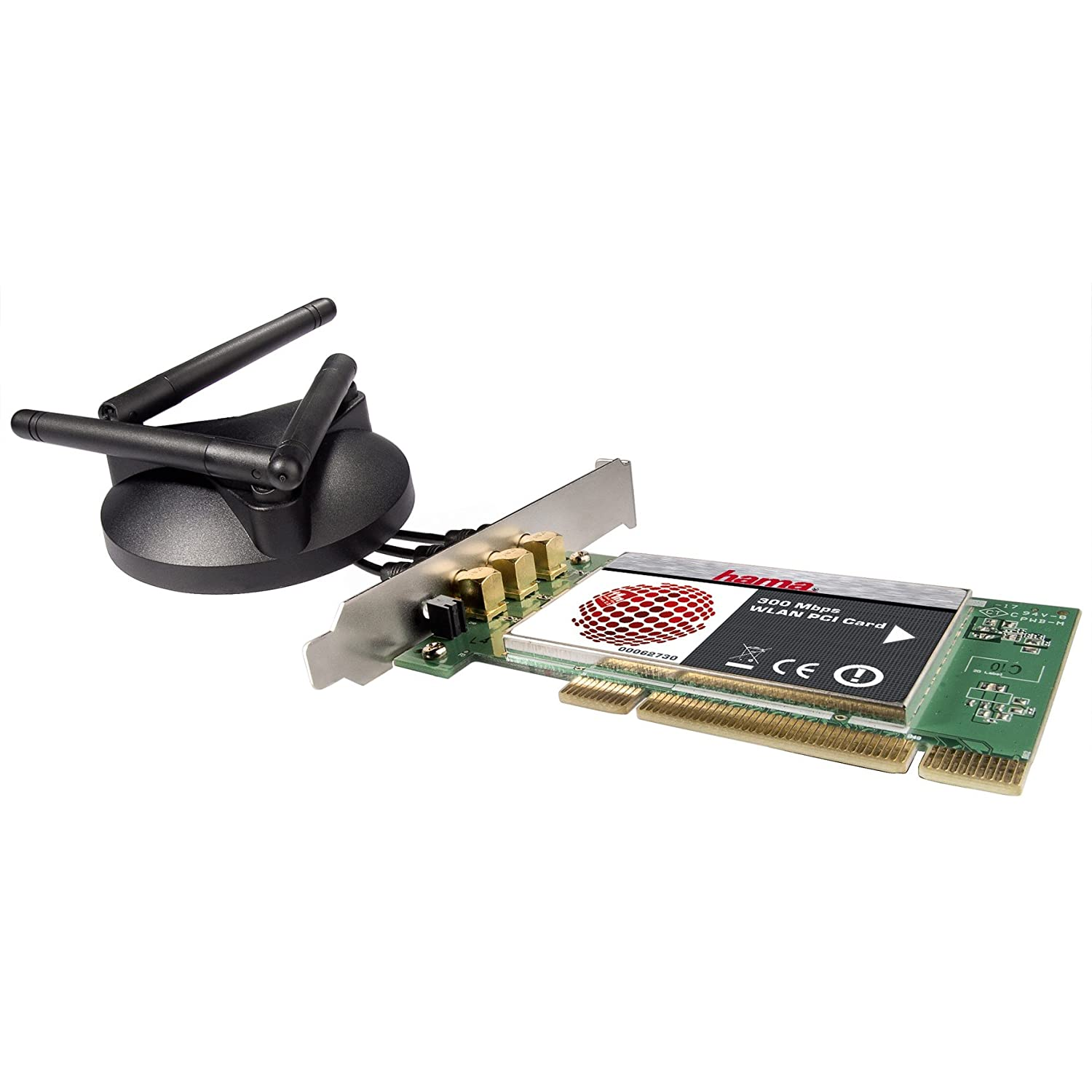 HAMA 54 Mbps Wireless LAN PC-Card Drivers for Windows Download