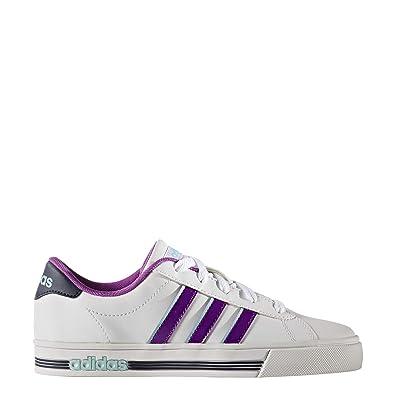 Team Daily Ville Neo Blc Violet Chaussures Mode Adidas Blanc K sQrdCtxh