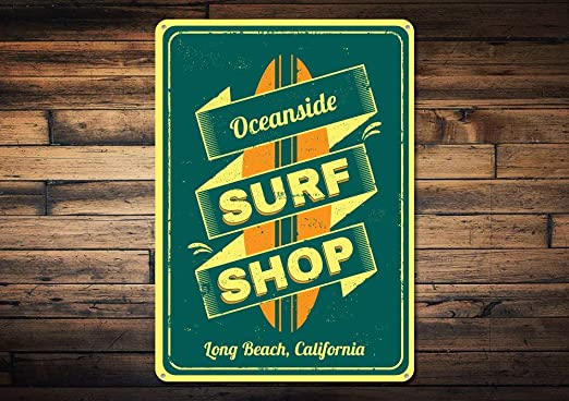 Dozili Cartel Personalizado de Surf Shop Oceanside Shop ...