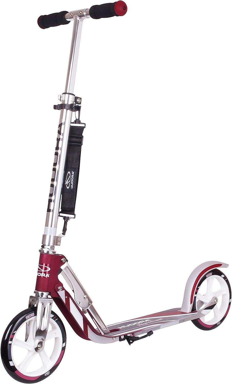 HUDORA BigWheel 205 - Patinete Plegable con tecnología RX Pro
