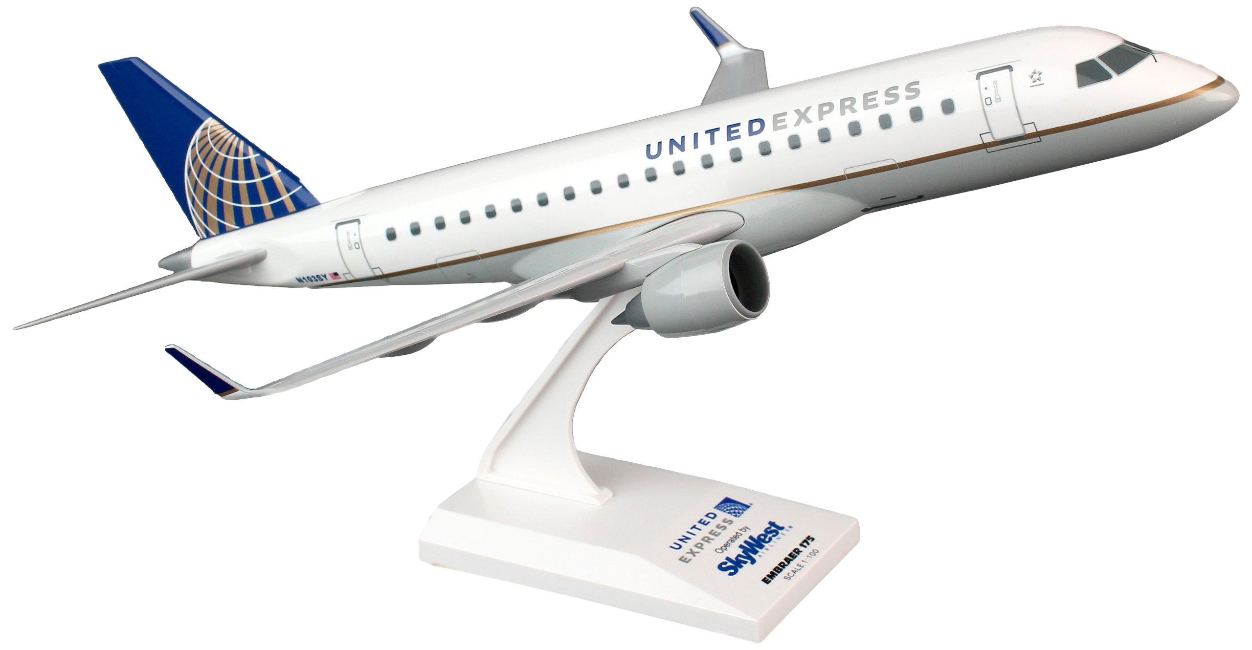 Daron Skymarks REG#N103SY United ERJ175 1/100 SkyWest Aircraft Model