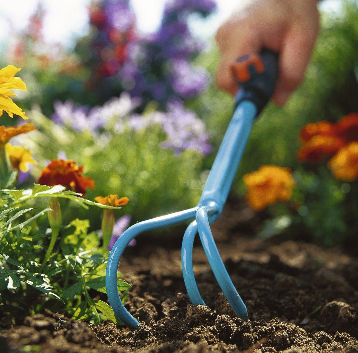 7/cm wide Gardena 8920/CS Small Cultivator