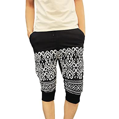 Pishon Men's Joggers Pants Casual Ethnic Patterned Athletic Jogging Extraordinary Mens Patterned Joggers