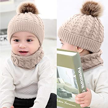 946732c91d83f8 BQUBO Newborn Knot Hat Beanie Baby Knitted Cap Knotted Hospital Hat.  DRESHOW BQUBO 2 Pack Baby Winter Knit Hat Toddler Crochet ...