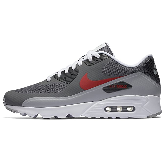 Nike Air Max 90 Ultra Essential (Wolf GreyRed) Sneaker
