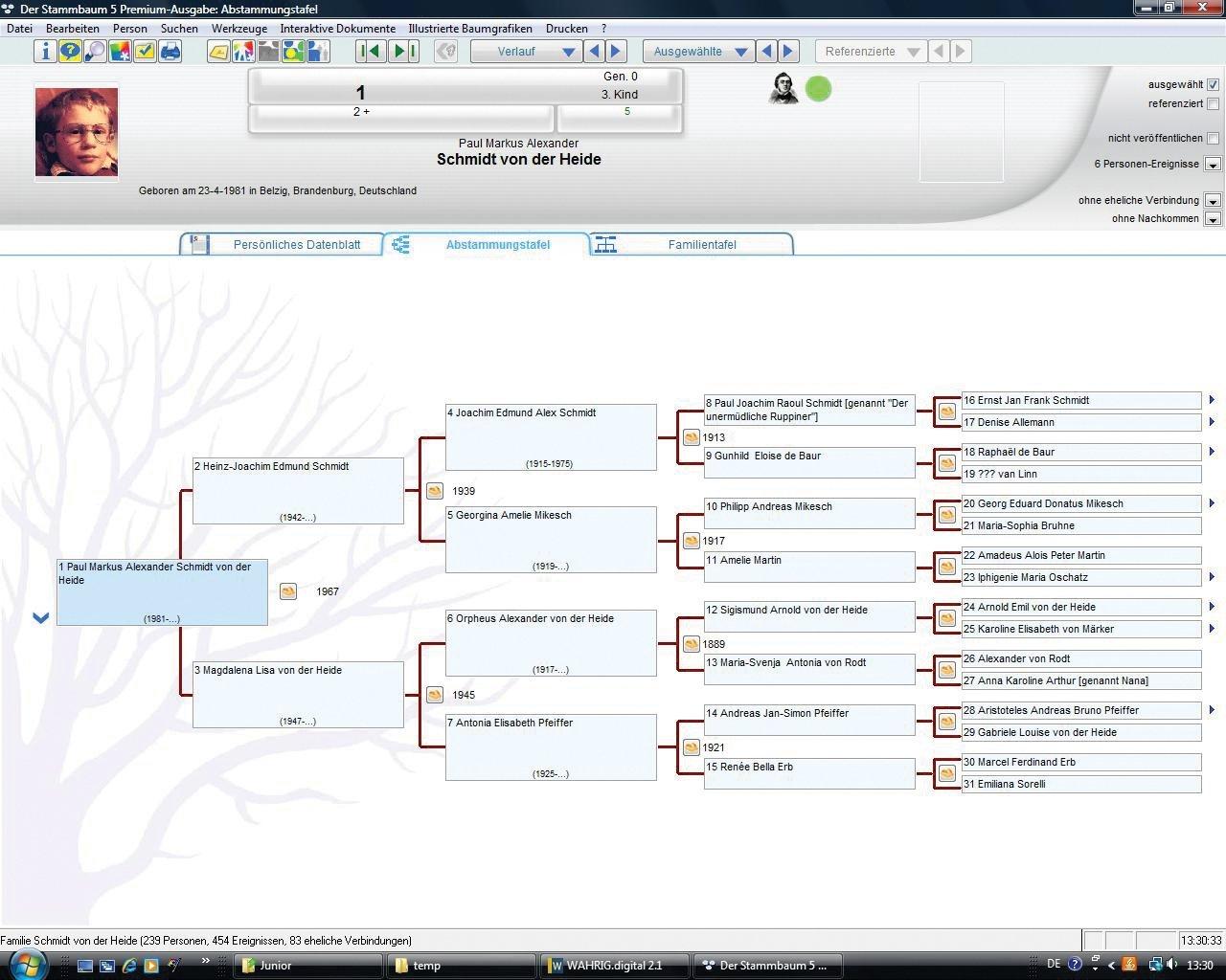 Stammbaum 5.0: Amazon.de: Software