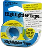 "Lee Products Highlighter Tape 1/2""X393""-Yellow"