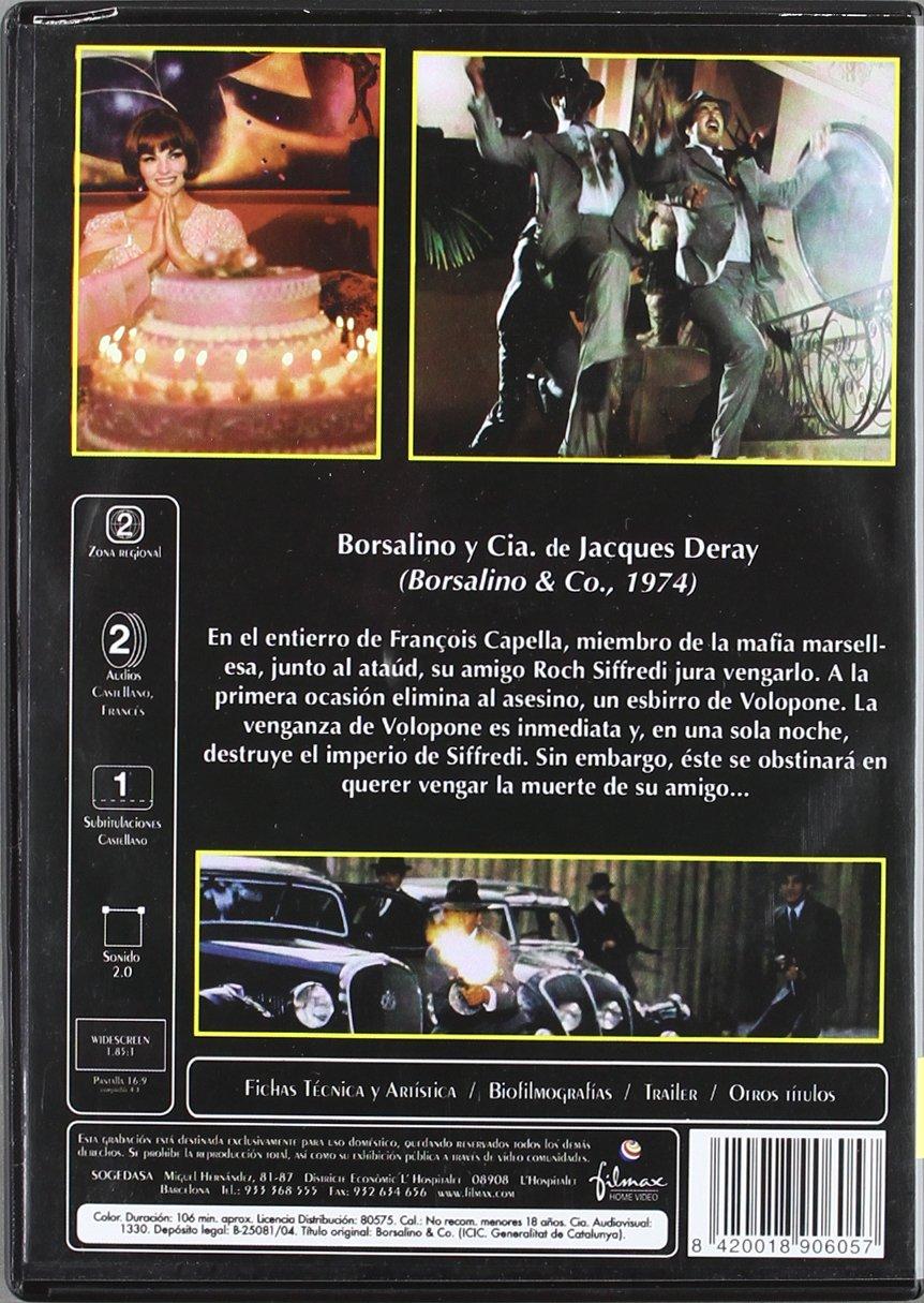 Borsalino & compañía [DVD]: Amazon.es: Alain Delon, Riccardo Cucciolla, Adolfo Lastretti, Catherine Rouvel, Reinhard Kolldehoff, André Falcon, ...