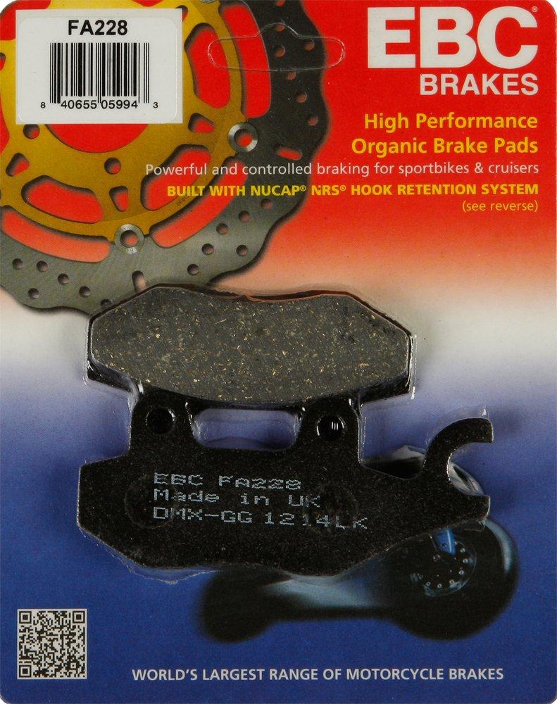 Honda Front Brake CMX 250 Rebel 1996, 1997, 1999-2014, 1999-2000, 2015 Motorcycle / Sportbike / Cruiser Part# 15-228