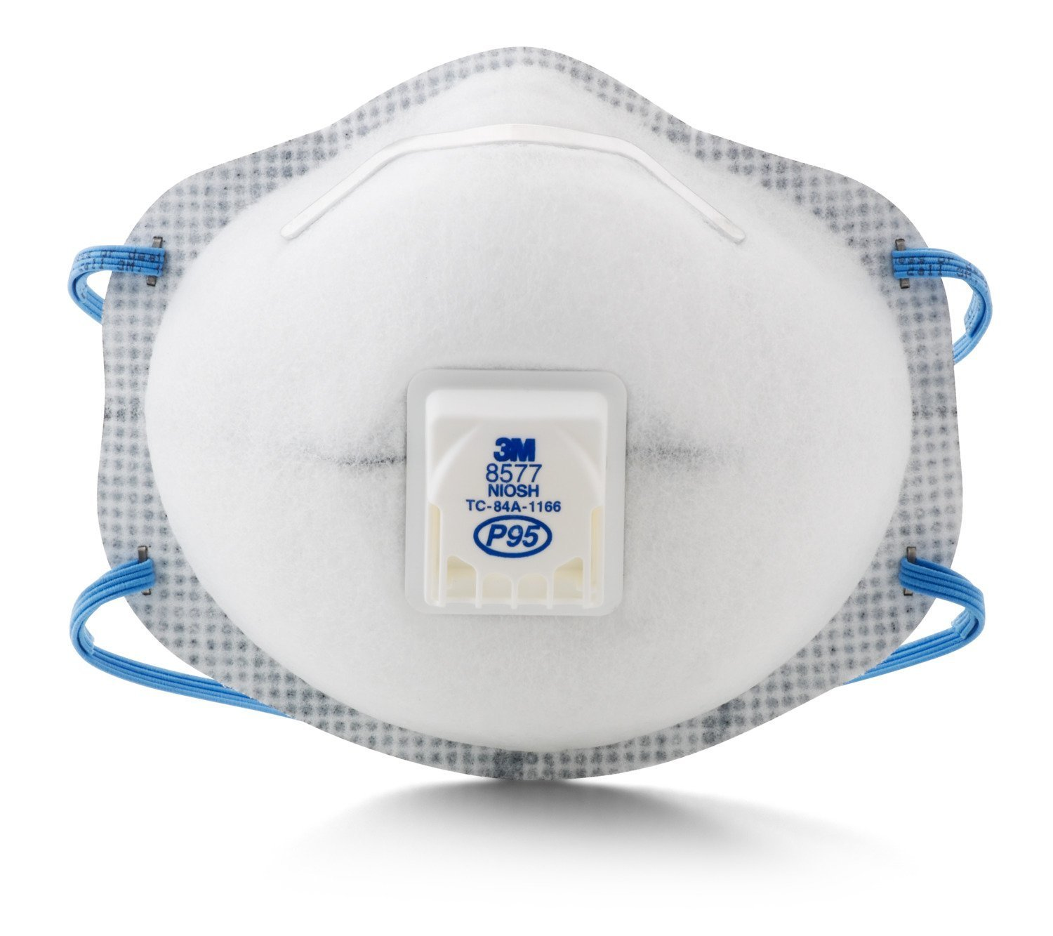 3M 8577 P95 Particulate Respirator with Nuissance Level Organic Vapor Relief (Pack of 60) by 3M (Image #1)