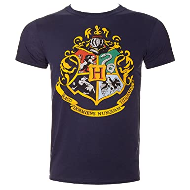 00ce926a9db Official Harry Potter Hogwarts Crest Adult T-Shirt (XXL)  Amazon.co.uk   Clothing