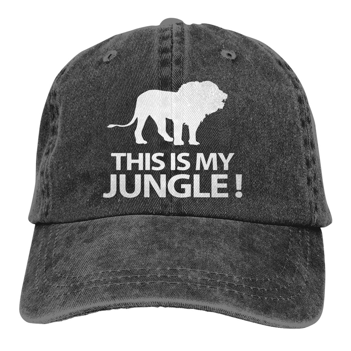 Q64 This is My Jungle Unisex Adult Cowboy Hat Outdoor Sports Hat Adjustable Truck Driver Hat