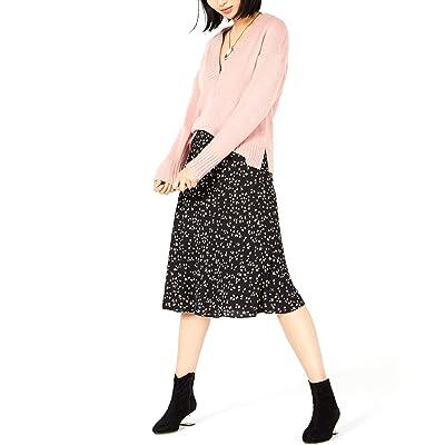 Bar III Women's Floral-Print Midi Skirt at Women's Clothing store