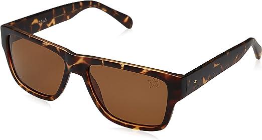 Starlite Universe Gafas de Sol Starlite Square, Carey/marrón, 55 para Hombre