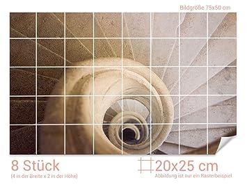 Graz Design 761217 20x25 50 Fliesenaufkleber Stein Treppe Fur