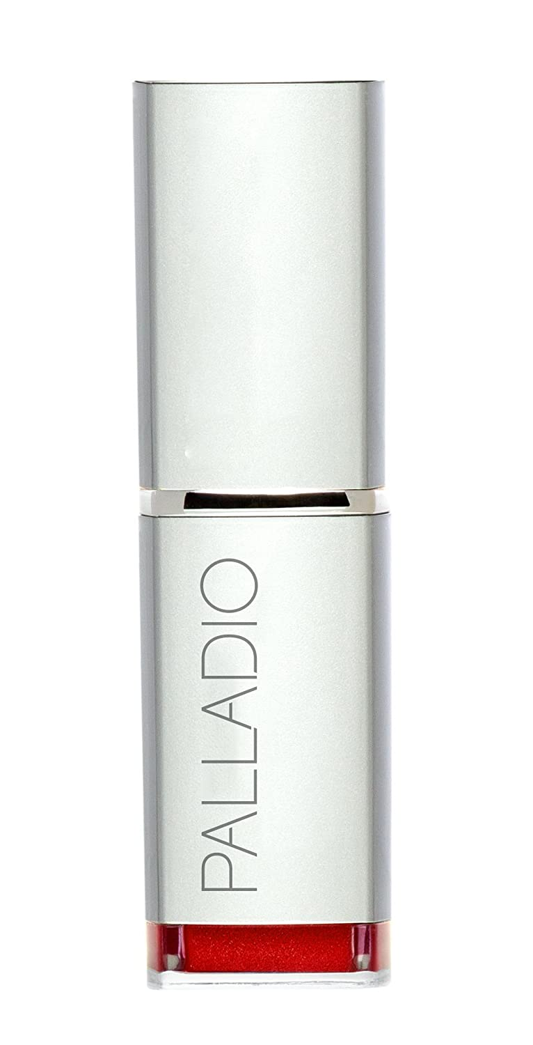Palladio Herbal Lipstick, Just Red, Rich Pigmented and Creamy Lipstick, Infused with Aloe Vera, Chamomile & Ginseng, Prevents Lips from Drying, Combats Fine Lines, Long Lasting Lipstick