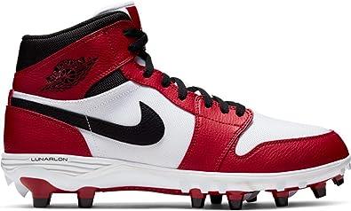 diagonal collar Inmunidad  Amazon.com: Jordan 1 TD AR5604-106 - Botas de fútbol para hombre, color  blanco y negro, Blanco: Shoes
