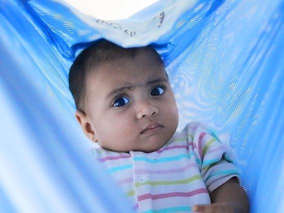 CuddlyCoo Baby Hammock - Cradle - (Blue) Hammocks (Baby Products) at amazon
