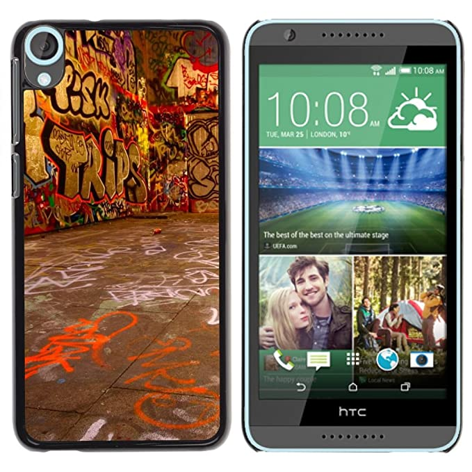 Carcasa de plástico funda | | HTC Desire 820 | | Street Art ...