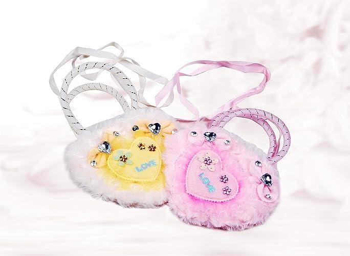 b449f89779de5 Amazon.com: Krishna Handmade INDIAN Fancy BAG - 2 Nos/Kids Bag ...