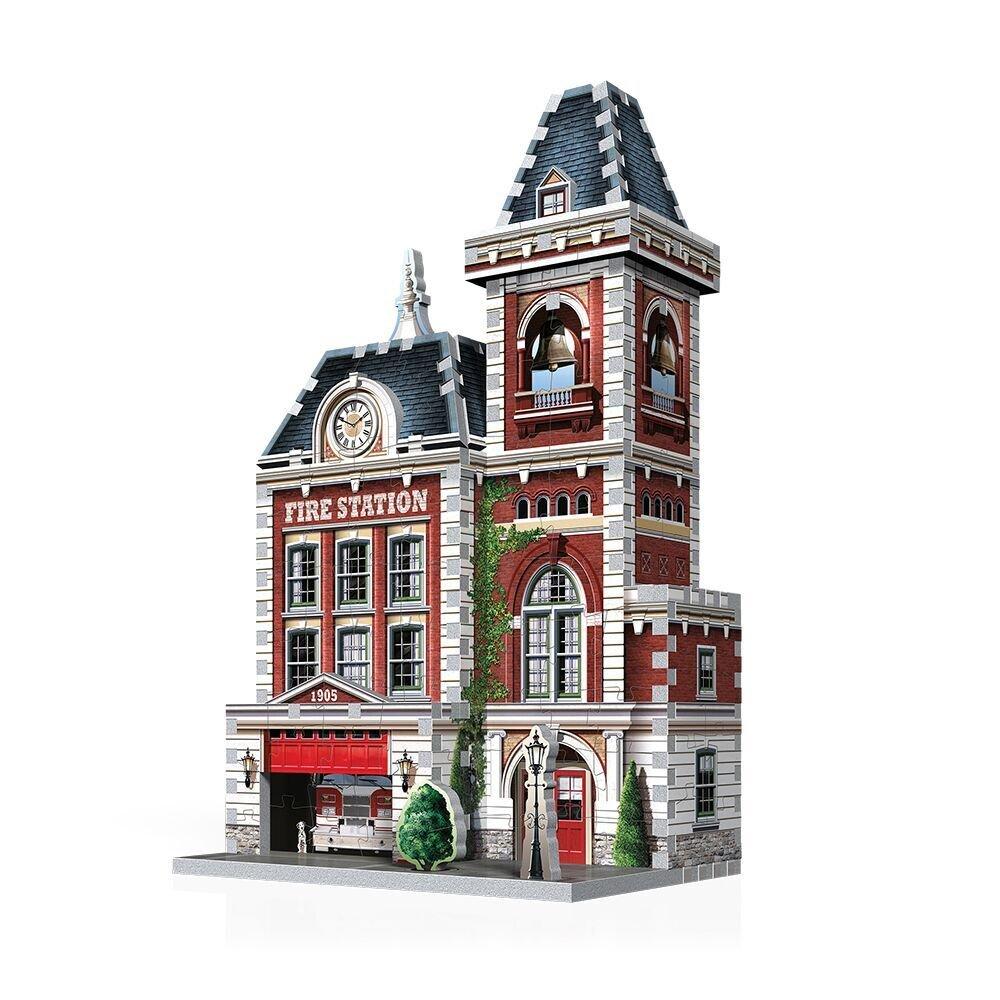 Urbania - Fire Station 3D Puzzle (285 pieces) Wrebbit 3D W3D-0505
