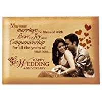 Presto Anniversary Gift Birthday Gift Love Gift Valentine's Day Gift Corporate Gift Wooden Photo Frame by Engraving Process