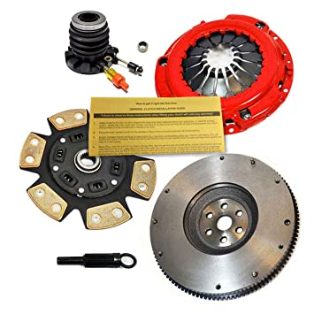 Amazon.com: EFT STAGE 3 CLUTCH KIT & SLAVE & FLYWHEEL for 95-01 FORD RANGER PICKUP 2.3L 2.5L: Automotive