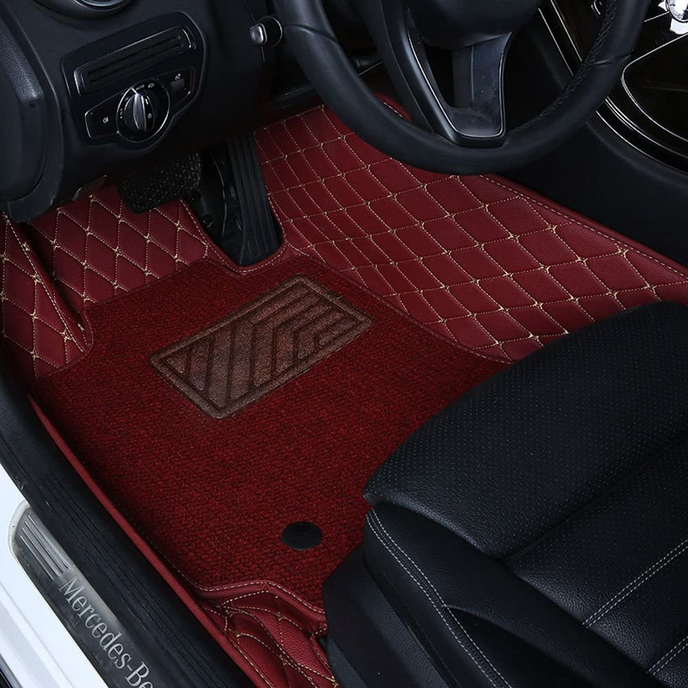 Worth-Mats 3D Full Coverage Waterproof Car Trunk Mat for Landrover Range Rover Sport 2013-2019-Black