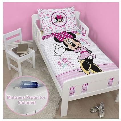 Junior/bebé de punto de cruz, diseño de Minnie Mouse juego de funda de