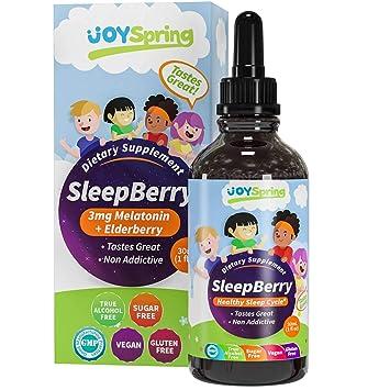 Amazon.com: SleepBerry - Melatonina líquida para niños ...