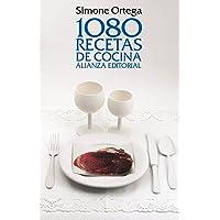 1080 recetas de cocina / 1080 cooking recipes (Spanish Edition)