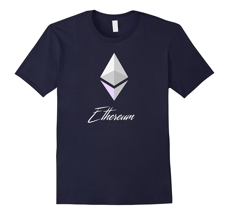 Ethereum Shirt Diamond White - Spread the Ether love-Vaci