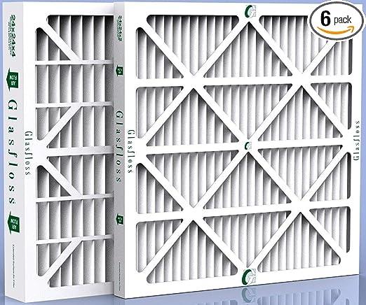Box of 4 24x24x4 MERV 8 AC Furnace 4 Inch Air Filters