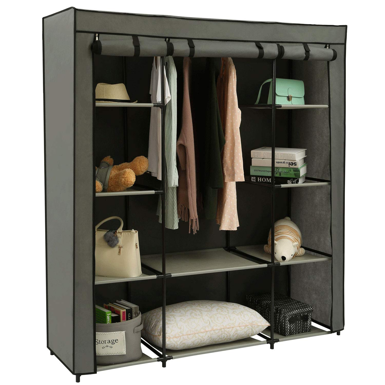Clothes Closet Portable Wardrobe Durable Clothes Storage Organizer