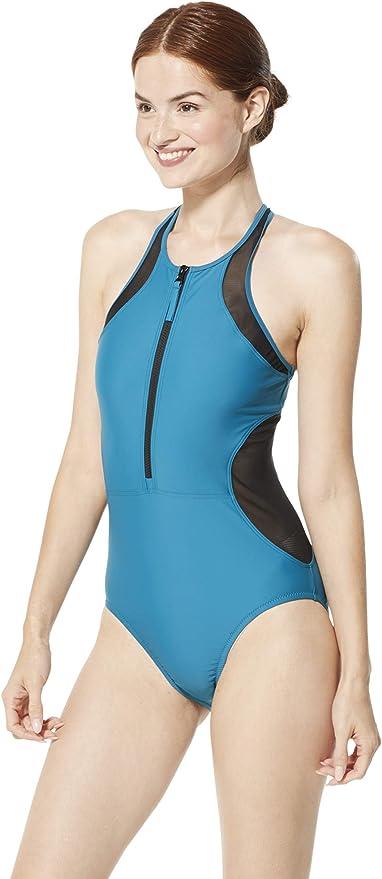 Choose SZ//color Details about  /Speedo Women/'s Swimsuit One Piece Powerflex Flybac